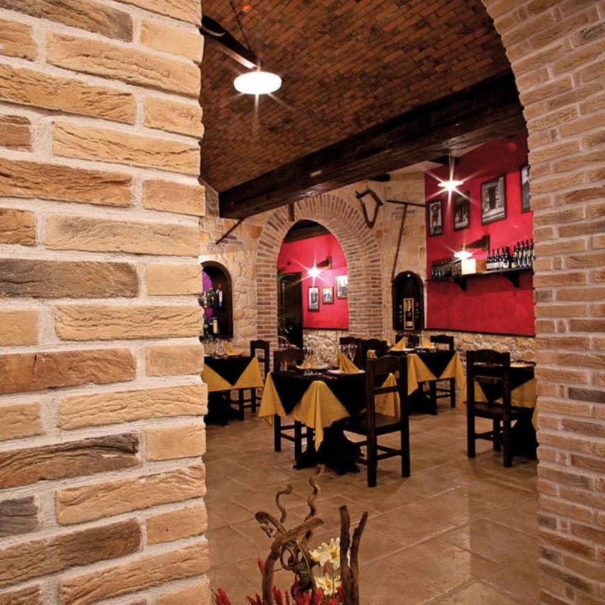 Listello Toscana Rosso