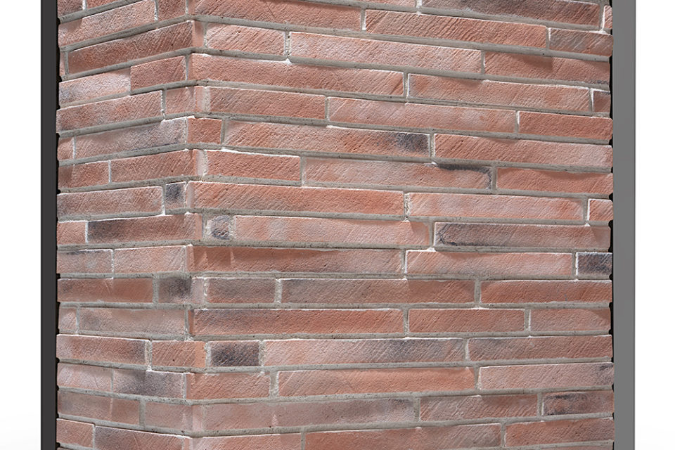 Brick Design Rosso Vintage