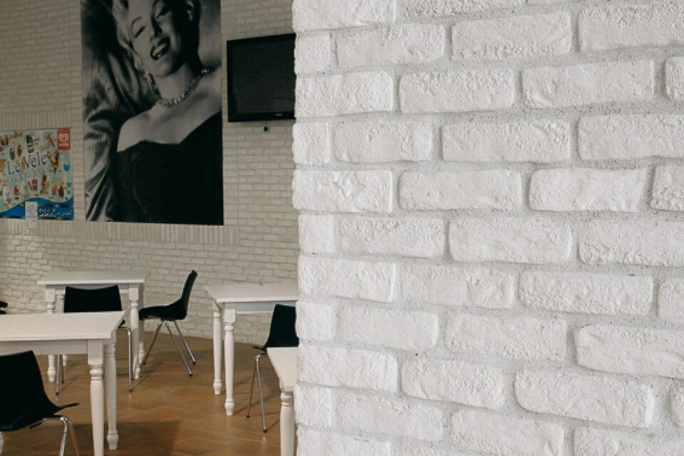 Listello Mattone Antico Bianco