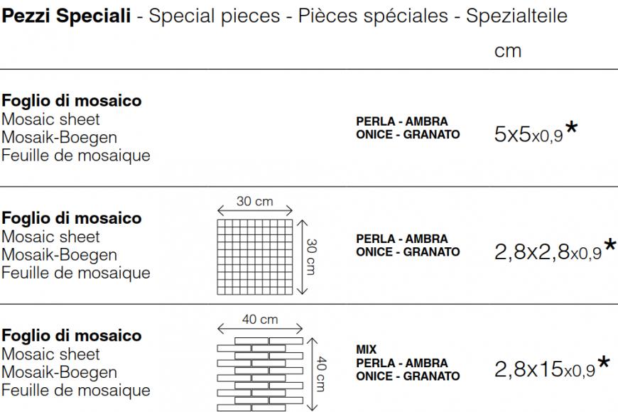 Special Pieces Veneziano